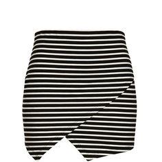 asymmetric tube skirt Factorie ($16) ❤ liked on Polyvore featuring skirts, bottoms, faldas, saias, rayon skirt, asymmetrical skirt, tube skirts and asymmetrical hem skirt