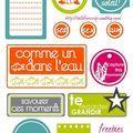 étiquettes gratuites à imprimer - Scrapooking et Cie