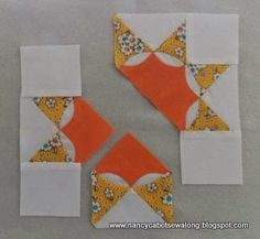 Moore About Nancy: French Star quilt block