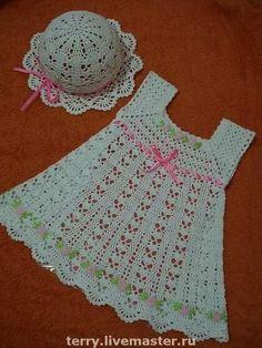 Lindo vestido de bebe.