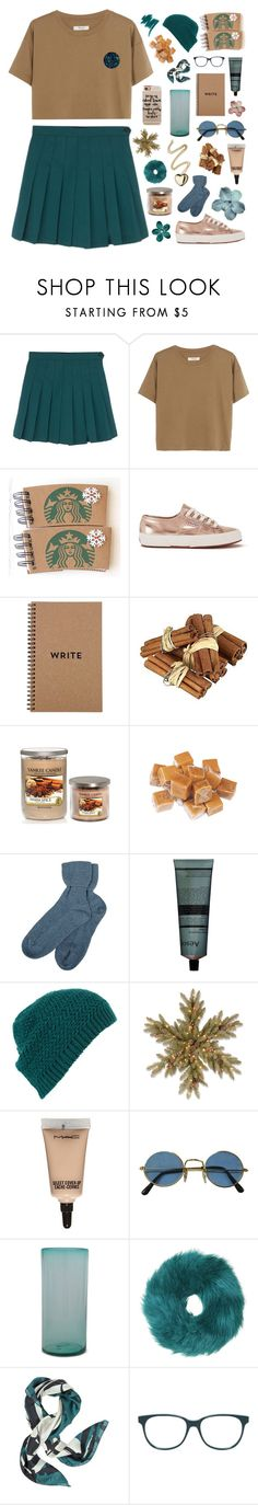 """pictures in my mind on replay."" by gintare-13 ❤ liked on Polyvore featuring Madewell, Superga, Yankee Candle, Brora, Aesop, Topshop, MAC Cosmetics, MANGO, Mitchell Gold + Bob Williams and Jimmy Choo"