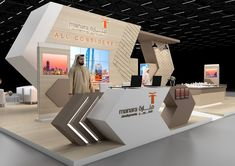 Conceptual Design on Behance Exhibition Stall Design, Exhibition Stands, Exhibition Display, Exhibit Design, Display Board Design, Vr Room, Wood Chair Design, Counter Design, Modern Shop