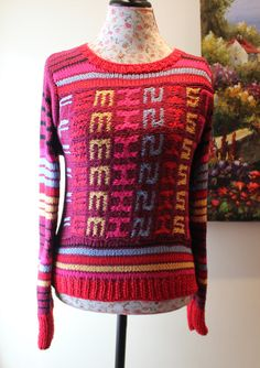 I want this text tattooed on me! !   THE FEMINIST SWEATER/ Handmade Cotton knit Sweater by ufer on Etsy, $200.00