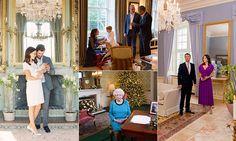Royal families take us inside their homes: photos