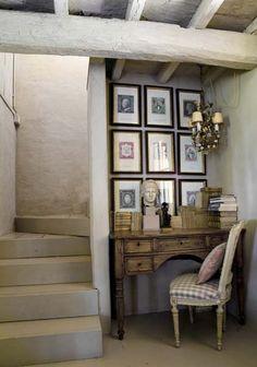 Little corner study - gorgeous!