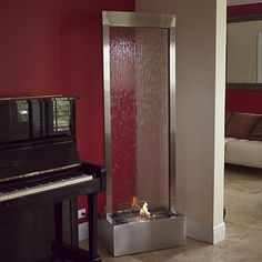 26 best Indoor Floor Fountain images on Pinterest | Indoor fountain ...