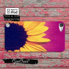 Sunflower Flower Yellow Cute Purple Ombre Cool Tumblr by CaseOasis, $14.99