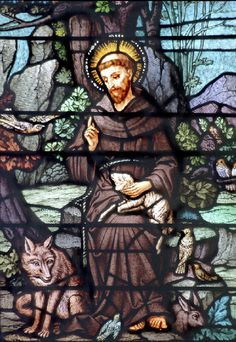 Saint Francis of Assisi.He was a Roman Catholic friar and preacher. He founded the men's Order of Friars Minor and the women's Order of Saint Claire.