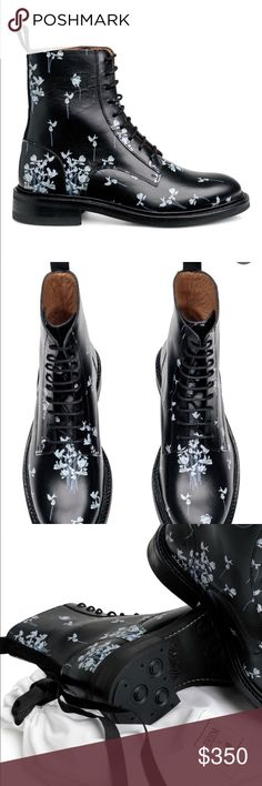 ERDEM X HM BOOTS ERDEM x HM sold out boots Box not included  Duster included H&M Shoes Combat & Moto Boots