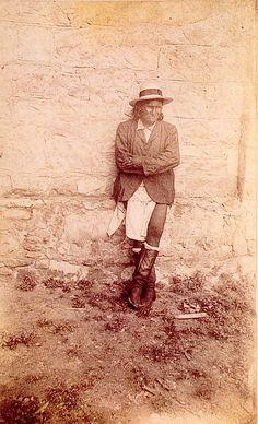 Geronimo (Chiricahua Apache), 1886, at Ft. Sam Huston, San Antonio, TX