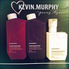 Magic in a bottle. Kevin Murphy Young Again wash rinse and masque. Dry Brittle Hair, Dry Conditioner, Work Pictures, Kevin Murphy, Love Your Hair, Moroccan Oil, Beauty Bar, Just Giving, Popsugar