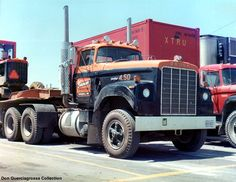 DODGE.Big Horn truck from Mid 1970s.My have times have changed.GMC,Chevrolet,Ford & Dodge once made these big trucks