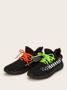 Lining: Polyester Outsole Material: EVA Season: Spring/Fall Color: Black Upper Material: Polyester Toe: Round Toe Style: Sporty Accessories: Lace Up Summer Sneakers, Vans Sneakers, Casual Sneakers, Sneakers Fashion, Adidas Men, Nike Men, Girls With Glasses, Turquoise, Trainers
