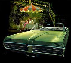"""danismm: """"1967 Pontiac Grand Prix Convertible Evening in Venice via here """""""