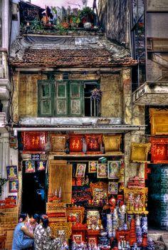 An ancient building ~ Hanoi