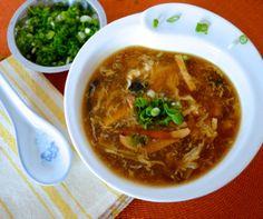 Hot & Sour Soup Recipe
