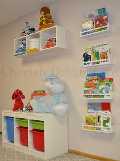 More Ikea playroom storage ideas