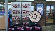 Join Marty from Flounder & Marty at Quality Car Wash in Holland from 11a-1p today. Come on by and spin the wheel to win some cool prizes! Buy this Prize Wheel at http://PrizeWheel.com/products/tabletop-prize-wheels/tabletop-black-clicker-prize-wheel-12-slot/.