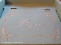 Paris Waste Bin painting tutorial