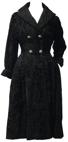 Vintage Black, Victorian, Dresses, Fashion, Vestidos, Moda, Gowns, Fasion, Dress
