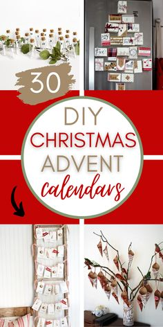 If you love advent activities to do with your family, here are 30 advent calendars you can make yourself! They are beautiful and festive, and can also double as Christmas decor! You can also download a free printable with all kinds of advent calendar fillers -acts of kindness, activities and Bible verses! If you are short on time, there are options you can buy this season, too! Click to get started! #adventcalendar #ideas #adventfillers #freeprintables #Christmasdiy #christmas #activities Homemade Christmas Gifts, Christmas Crafts For Kids, Xmas Gifts, Handmade Christmas, Christmas Diy, Christmas Decorations, Christmas Recipes, Holiday Decor, Advent Calendar Fillers