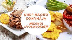 Ez a legjobb eredeti mexikói avokádókrém recept, amelynek elkészítése a friss és jó minőségű alapanyagokból szinte gyerekjáték. Mindössze avokádóra, hagymára, paradicsomra, korianderre, zöldcitromra, valamint sóra és borsra van szükséged hozzá. Cuban Cuisine, Catering Business, Cooking Instructions, Mexican Dishes, Nachos, Menu, Dining, Food, Cilantro