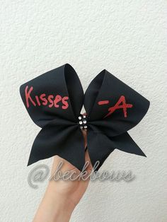 Pretty Little Liars 3 Cheer Bow by beckbows on Etsy, $11.00
