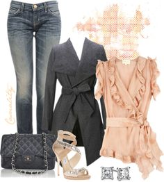 """Sparkling Femme"" by casuality on Polyvore"