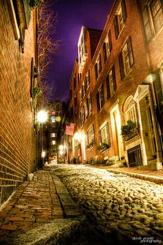 While Acorn Street feels narrow by 2012 standards, it's comforting to know that it's been measured and, per an 1825 decree, the lane is exactly wide enough for two cows to pass one another.