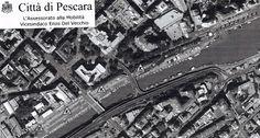Pescara lungofiume a senso unico per i lavori in corso
