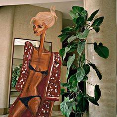 Mood🎻 #illustration #art #woman #fashion #fashionillustration #instagram #instagood #style #mood #vibes #vibegrams #vogue