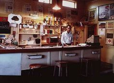 Robin Morrison. Bar of the Red Lion Hotel, Hokitika, West Coast. (I was there once in 1986, on a trip down the west coast with my parents)