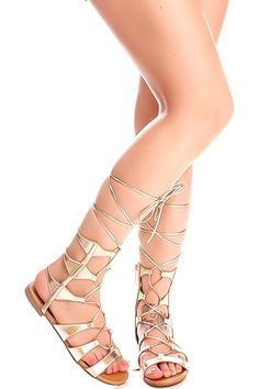 e1f575a7b08 Oppo MULTI STRAP LACE UP DESIGN OPEN TOE GLADIATOR KNEE HIGH SANDALS      Remarkable product available now.   Gladiator sandals