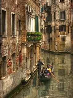 Venice, Italy - Loved the gondola ride! Places Around The World, Oh The Places You'll Go, Places To Travel, Places To Visit, Around The Worlds, Dream Vacations, Vacation Spots, Romantic Vacations, Italy Vacation