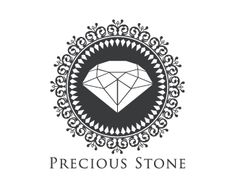 Precious Stone Logo design - This design is of a diamond stone, its very unique design and attractive, just used two colors to make it look beautiful and corporate. This design can be use full for jewelry store, diamond store and jewelers, luxury items, precious stone dealers and collectors, fashion brands. Price $499.00