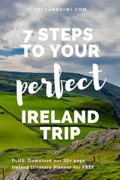 How to Plan the Perfect Ireland Itinerary - Celt & Kiwi Slow Travel, Travel Plan, Family Travel, Travel Tips, Travel Destinations, Dublin Travel, Ireland Travel, Itinerary Planner, Vacations To Go