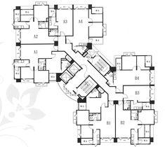 School Building Design, Building Layout, Building Plans, Hotel Design Architecture, Architecture Concept Drawings, Architecture Plan, Residential Building Plan, Hotel Floor Plan, Architectural Floor Plans
