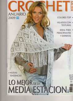 MAGAZINE: CROCHET MUJER 2009 - Marcela Nagy - Picasa Web Albums ❤️LCM-MRS❤️ with diagrams.