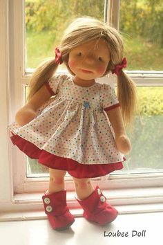 Custom Order doll for Wesley King