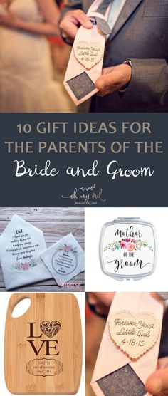 Give your parents a gift on your wedding day as a simple way of saying thank you for all the love they gave you and to remind them how much you love them. Here are some gift ideas that you can give to your mom and dad. | Gift Ideas for the Parents of the Bride and Groom | Gift Ideas to Give to Your In-Laws | Wedding Gift Ideas
