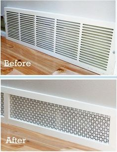 cover the radiator with a cover like this