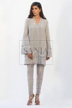 Sania Maskatiya New Arrival Luxury Pret Wear Collection Winter 2016-17 | PK Vogue