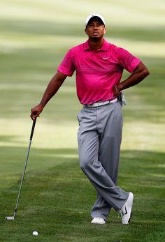 Tiger Woods Just Playing Par Golf