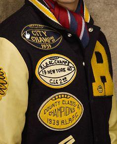 letterman jackets.