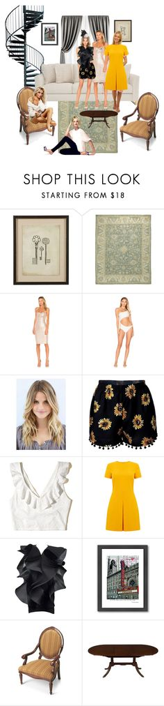 """Untitled #447"" by vegas777 ❤ liked on Polyvore featuring Ethan Allen, Ralph Lauren Home, Bernhardt, Nookie, ADRIANA DEGREAS, Hollister Co., Warehouse, Pierre Cardin, Americanflat and Butler Specialty Company"