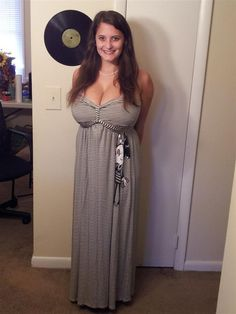 boobs pics girl amateur dress