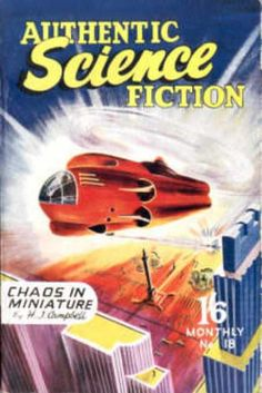 Authentic Science Fiction 18