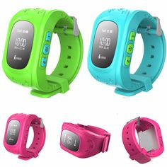 Cheap real time tracking smart watch for kids, GPS Watch for All World Q50 cheap kids smart watch