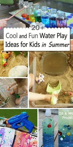 20+ Cool and Fun Water Play Ideas for Kids in Summer!