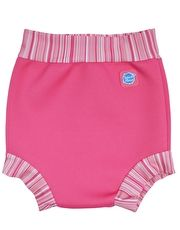 Splash About Happy Nappy - Pink Classic The Splash About Happy Nappy in the Pink Classic colour is fantastic for babies and little ones in the pool and helps to prevent any leaks from your babies nappy http://www.MightGet.com/january-2017-13/splash-about-happy-nappy--pink-classic.asp